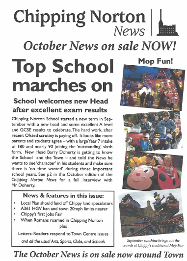 Oct Chippy News